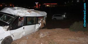 Mardin-Kızıltepe yolunda kaza: Biri ağır 2 yaralı