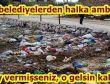 HDP'li belediyelerden halka ambargo