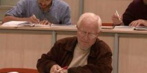 78 yaşında hukuk öğrencisi oldu