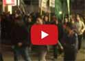 Gazzede mısır protestosu
