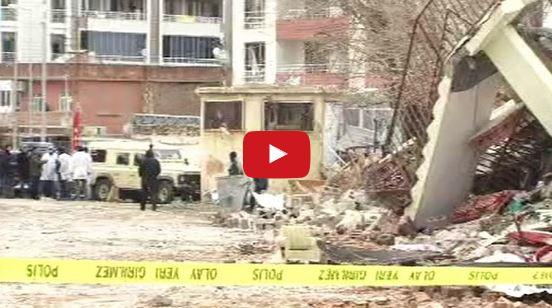 Çınar'da bombalı saldırı