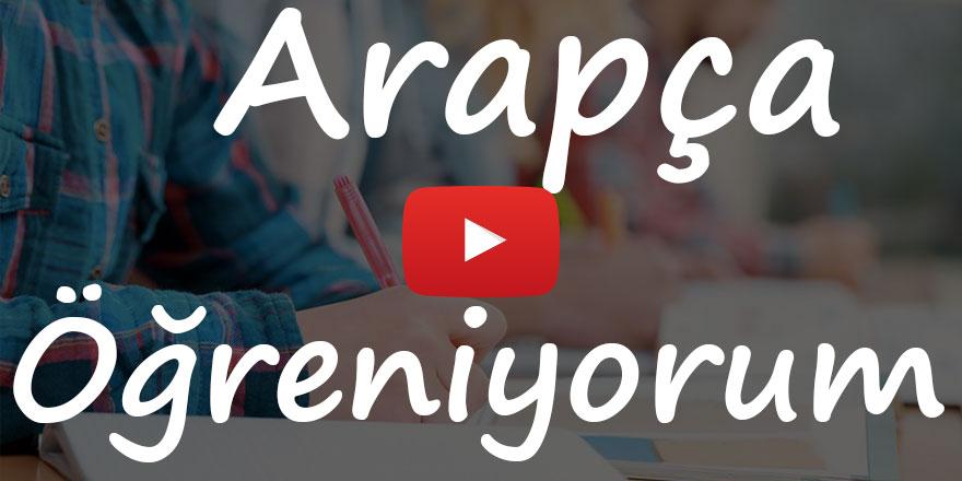 Arapça Öğreniyorum 10. bölüm Rehber Tv