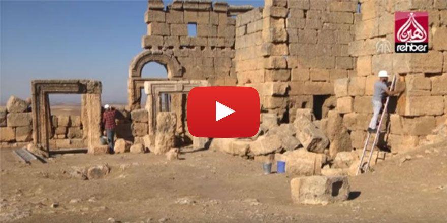 Zerzevan Kalesi'nde 1500 Yıllık Yeraltı Sığınağı Bulundu