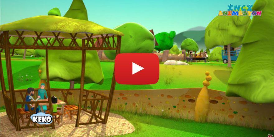 Keko-komşuluk ahlakı çizgi film