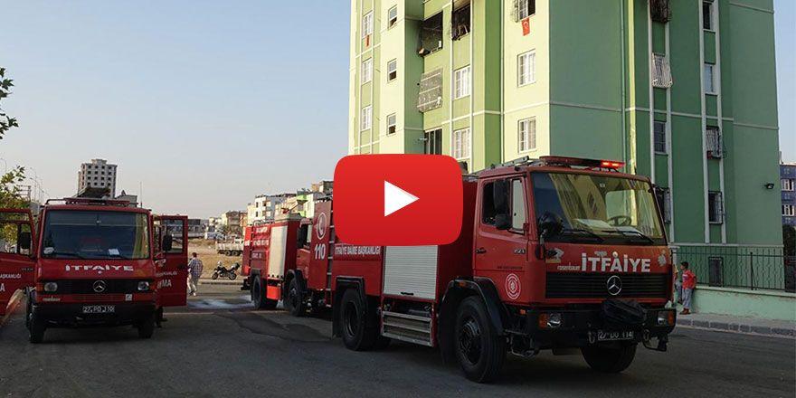 Gaziantep'te  söndürülmeyen sigara yangına neden oldu