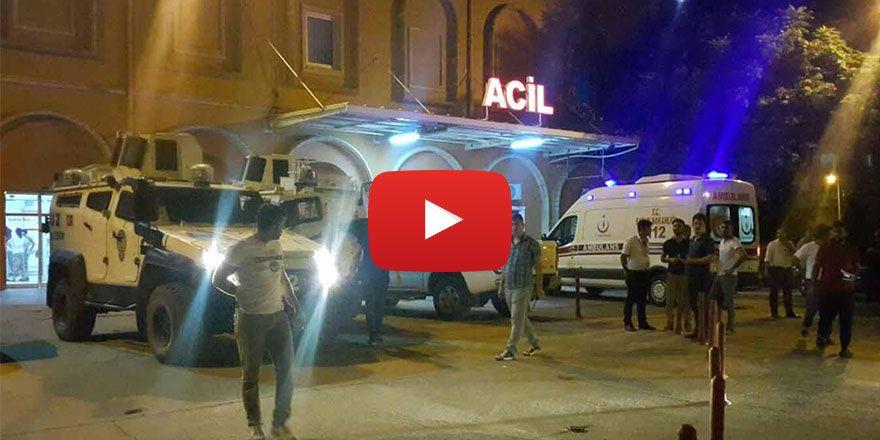 TOMA otomobile çarptı: 5 yaralı
