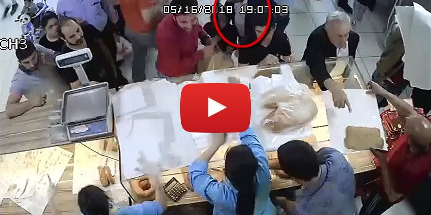 Gaziantep'te fırında yankesicilik yapan şüpheli yakalandı