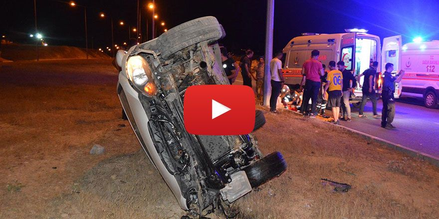 Siirt'te iki ayrı kaza: 3'ü çocuk 11 yaralı