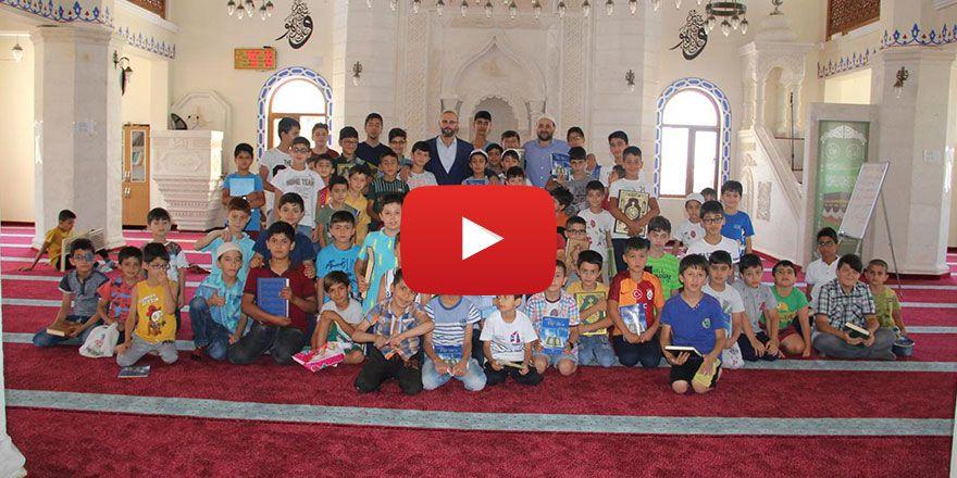 Midyat'ta çocukların Kur'an öğrenme sevinci