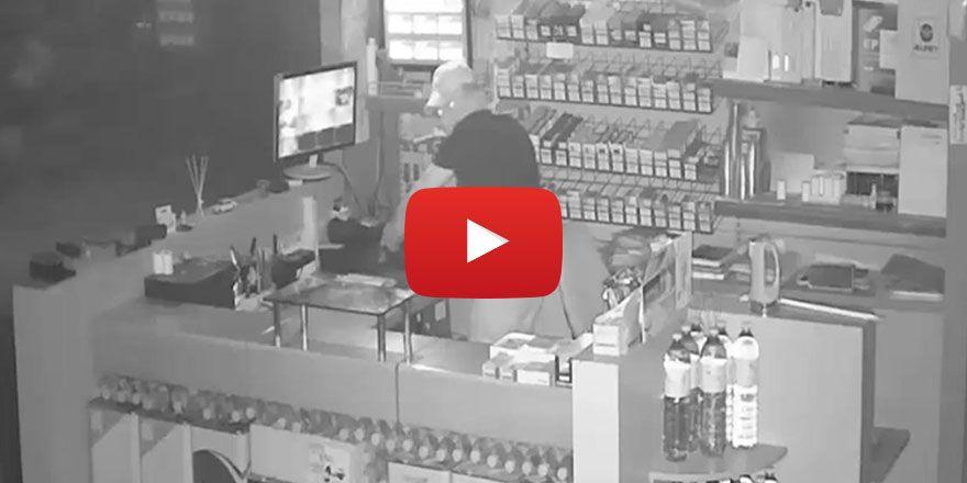 Gaziantep Şahinbey'de marketten hırsızlık yapan şüpheli yakalandı