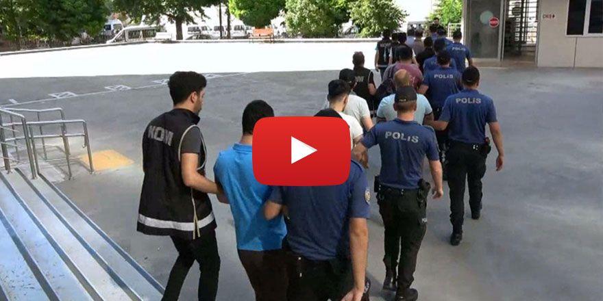 Gaziantep merkezli sanal para dolandırıcılığı operasyonu: 19 gözaltı