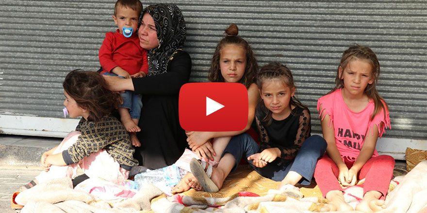 Gaziantep'te ev kirasını ödeyemeyince sokağa atıldı